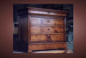 Commode louis philippe eb niste jean luc truchy - Commode merisier louis philippe ...